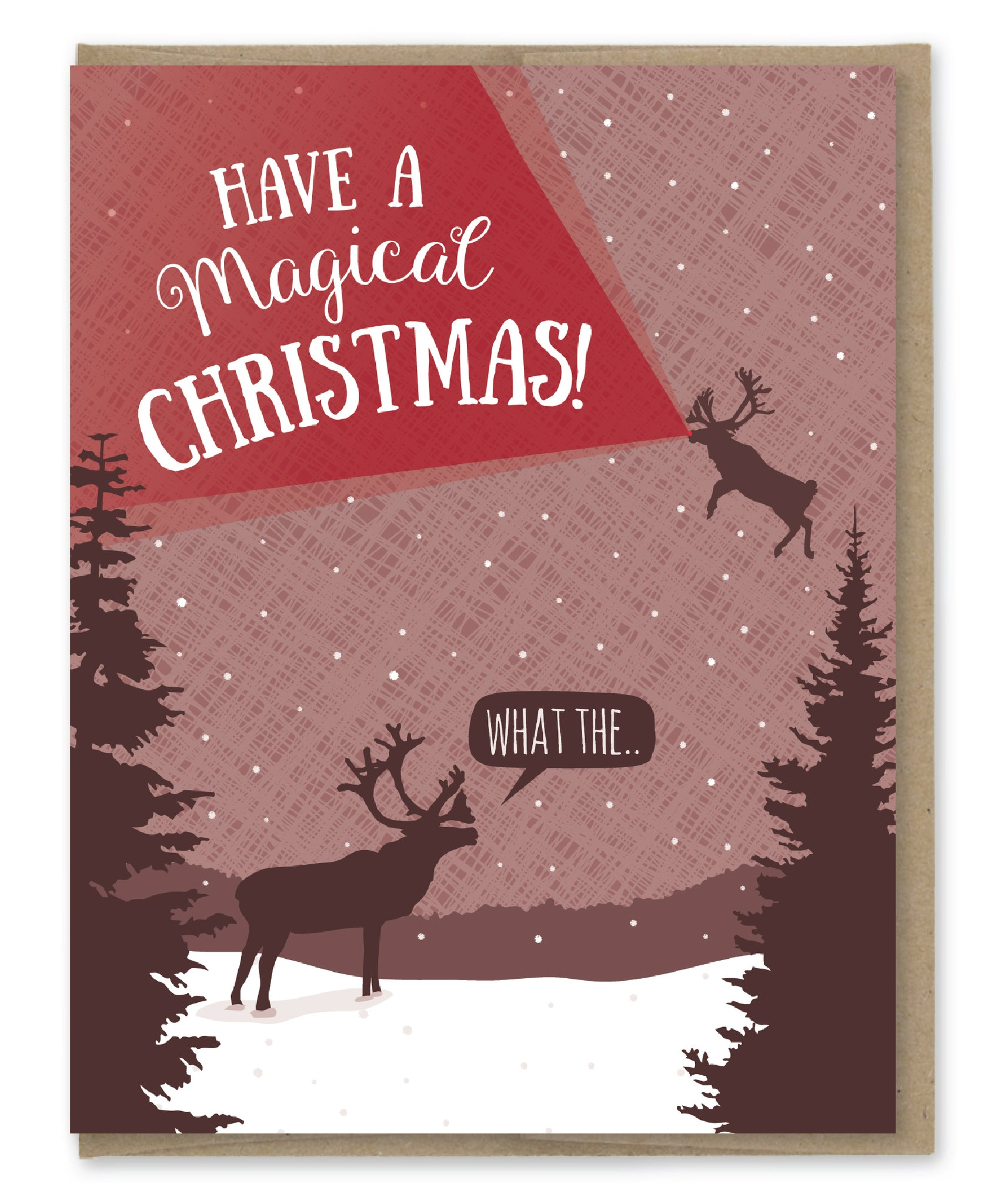 MAGICAL CHRISTMAS CARD