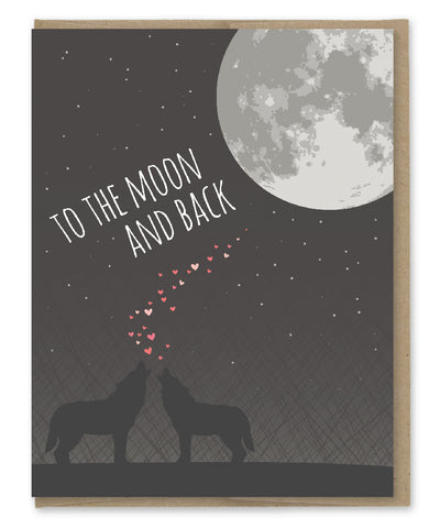 MOON AND BACK CARD