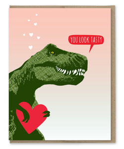 YOU'RE TASTY TREX CARD