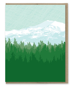 MOUNTAIN BLANK CARD