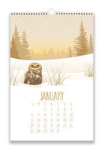 2019 WILDLIFE WALL CALENDAR
