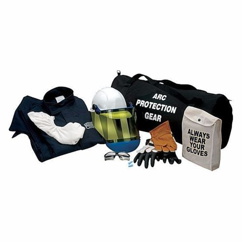CHICAGO PROTECTIVE APPAREL (CPA) AG12-JP 12CAL ARC FLASH KIT WITH GLOVES