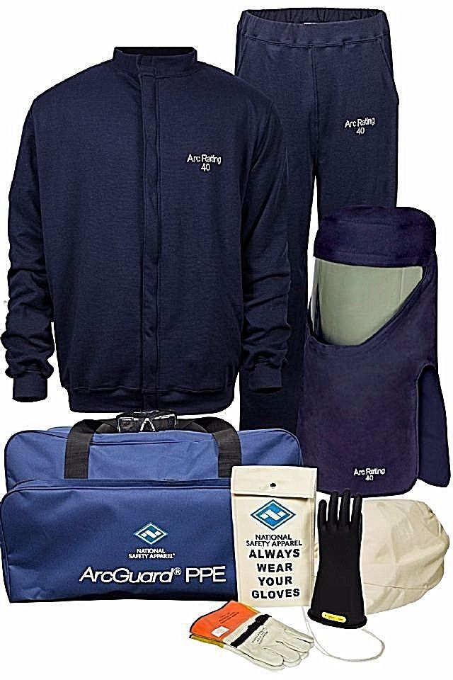 NATIONAL SAFETY APPAREL KITARC40 40 CAL COMPLETE ARC FLASH KIT