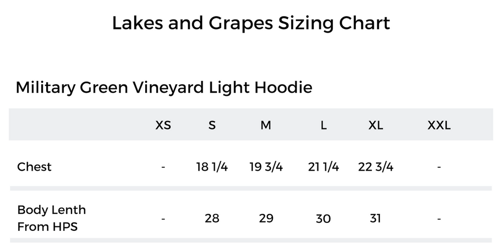 Vineyard Light Hoodie