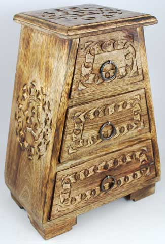 Celtic Wooden Drawer Chest