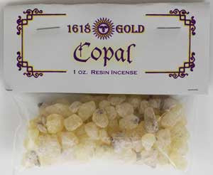Copal Granular Incense