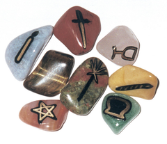 Witch Stones-Witches Runes Set