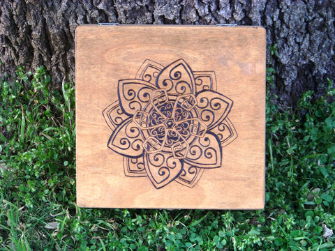 Mandala Lotus Spell Box