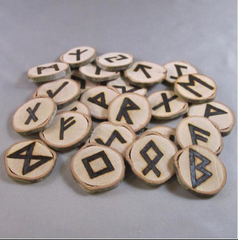 Hand Crafted Elder Futhark Runes By: Project Fey