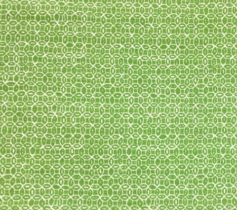 China Seas Fabric: Melong Batik Reverse - Custom Richmond Green on Westover (Woven, Upholstery Weight)