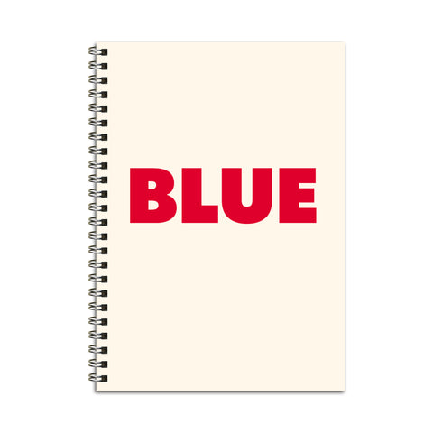 Blue (True) Notebook