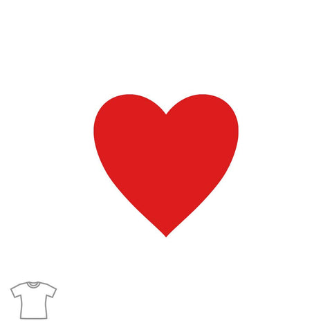 Heart T Shirt for Women