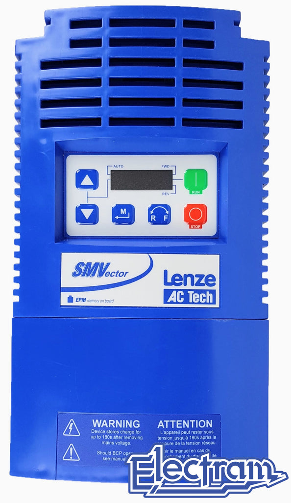 Lenze AC Tech VFD - 10HP - 600v - 3 phase input - NEMA1 Indoor - Variable Frequency Drive