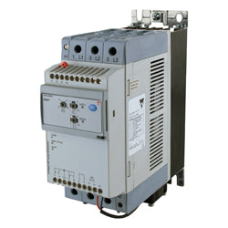 Carlo Soft Starter, 3 Phase Control, 55A, 220-600VAC, 100-240VAC Control, Integrated Overload