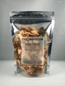 Salmon Crumble Freeze Dried Treat and Meal Topper