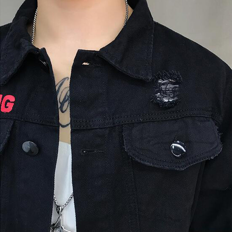 """Splash"" Denim Jacket"