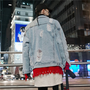 """The Mask"" Denim Jacket   (Limited Edition)"
