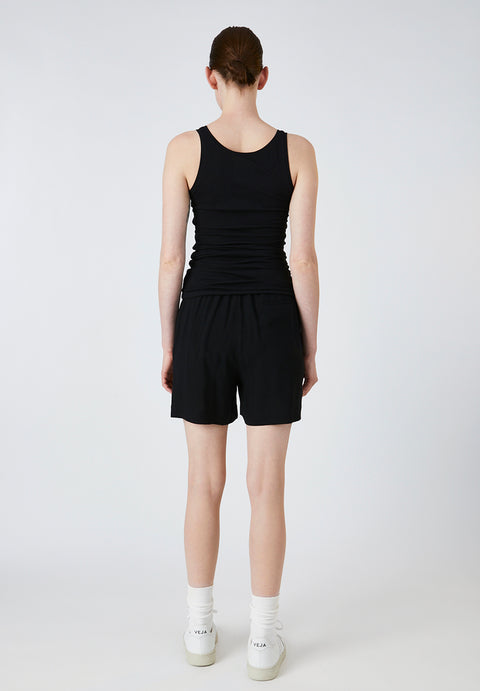 Raanya Shorts with Tie Front