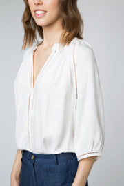 Celia Top in White