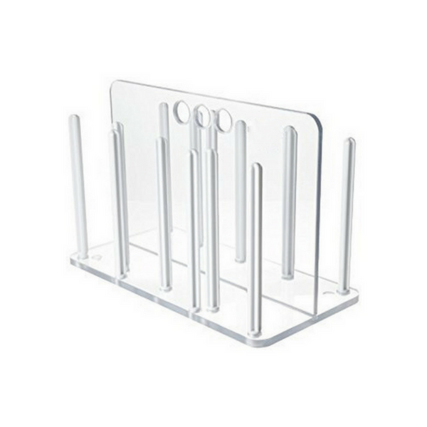 Rack for Petri Dishes, Polycarbonate -  Science Lab Equipment | Science Equip Australia
