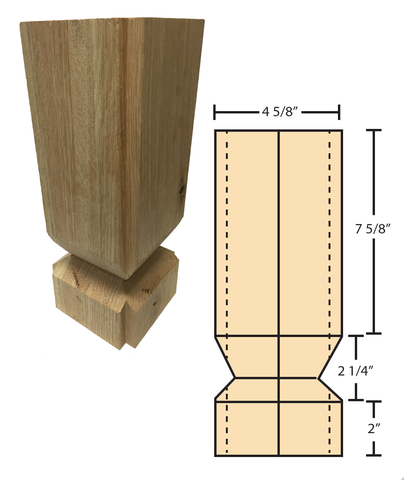 EZ Mount for C-4091 Newels | Stair parts