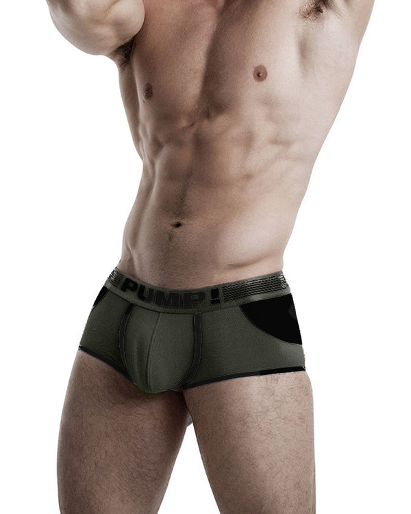 Access Trunk - Military Green PUMP!