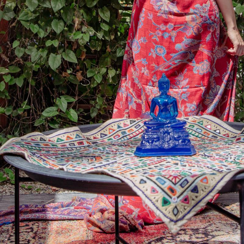 Saloni Tablecloth + Wall Hanging