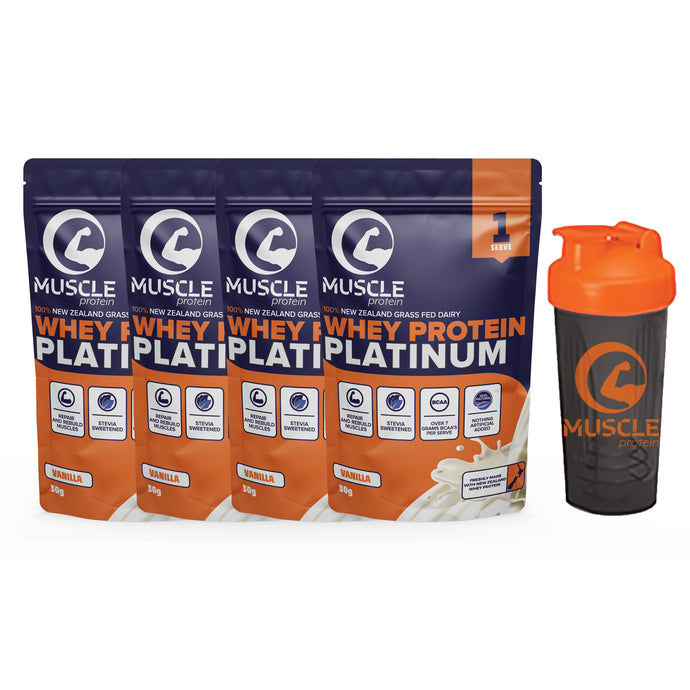 Muscle Protein Platinum Sample Pack