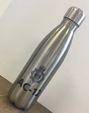 Personalised Line of Duty Season 1 2 3 AC-12 AC12 Novelty Police Stainless Steel Water Bottle
