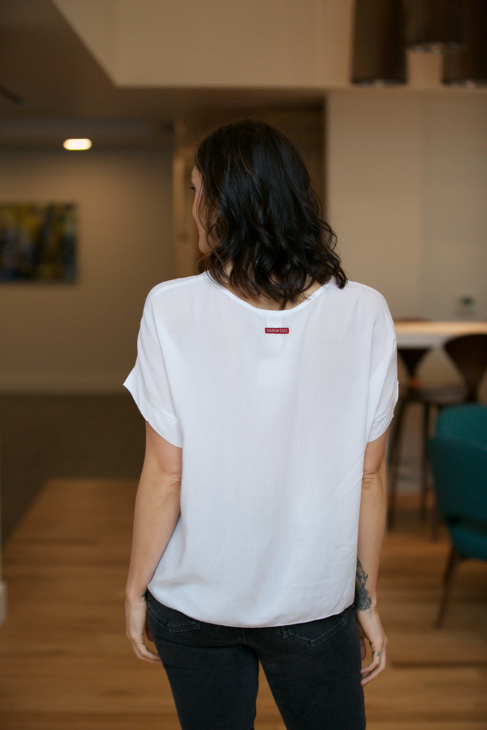 Hard Tail Scoop Boxy Tee - Classic