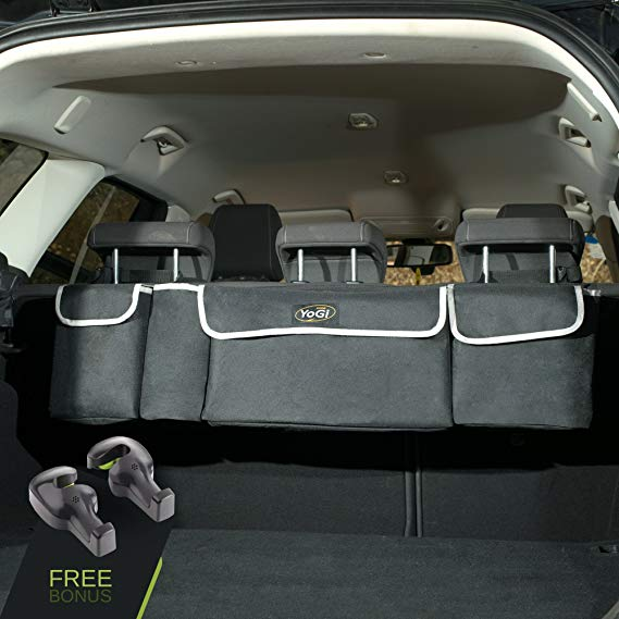 Trunk and Backseat car Organizer
