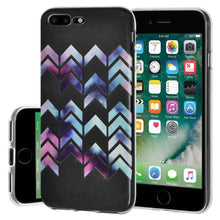 Load image into Gallery viewer, Soft Gel TPU Soft Skin Case Arrow Print for iPhone 7 Plus - Clear - fommystore