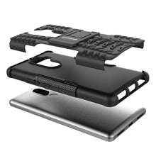 Load image into Gallery viewer, AMZER Shockproof Warrior Hybrid Case for Lenovo K8 Note - Black/Black - fommystore
