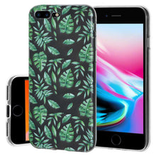 Load image into Gallery viewer, Soft Gel TPU Soft Skin Case Woodland Fern for iPhone 8 Plus - Clear - fommystore