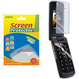 AMZER Kristal Clear Screen Protector for Nextel Motorola Stature i9 - fommystore