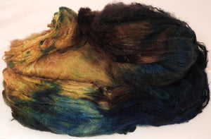 Silk Hankies ( Mawata) for Spinning and Felting-1.3 oz.