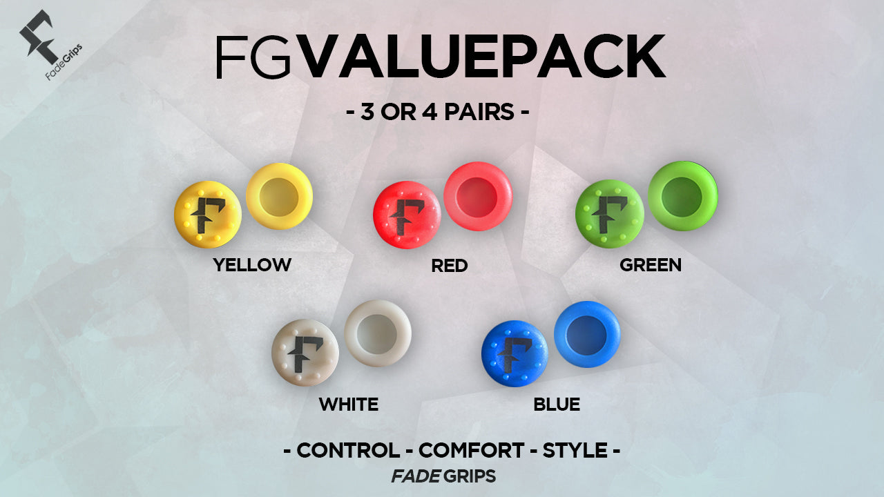 Fade Grips Value Pack