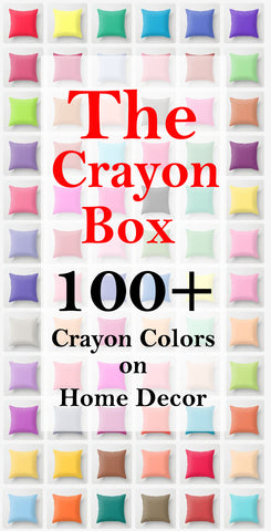 From The Crayon Box Beautiful and Vivid Solid Color Home Decor Items