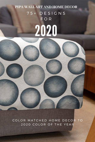 75+ Throw Pillows and Home Decor Inspired by 2020 Color of the Year Chinese Porcelain