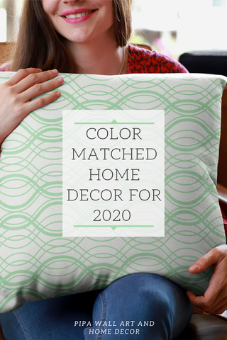 Home decor that will pair perfectly with Coloro's 2020 color of the year Neo Mint 065-80-23