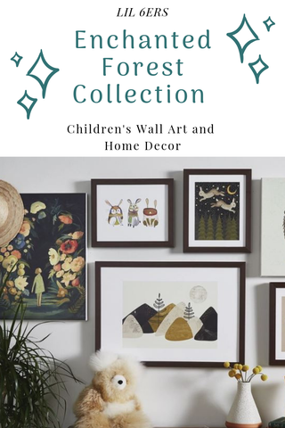LIL 6ers Enchanted Forest Collection - Children's Wall Art and Home Decor