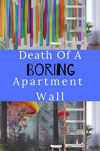 Removable Accent Wall Murals That Will Bring Death To A Boring Apartment Walls