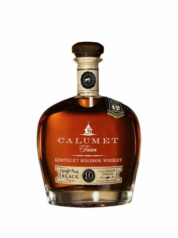 Calumet Farm Single Rack Black 10 Year - Whiskey - Don's Liquors & Wine - Don's Liquors & Wine