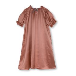 Antonia delicate and graceful silk nightdress for girls - comfortable & skin friendly