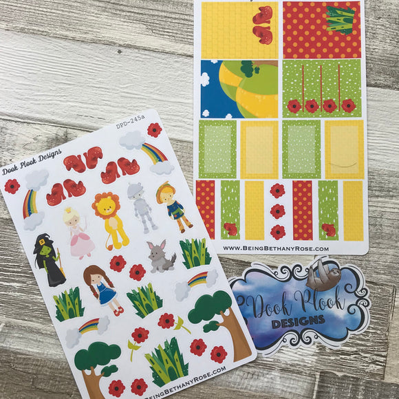 Wizard of Oz sticker set (DPD245)