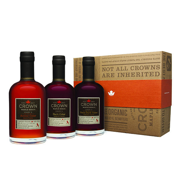 Maple Syrup Sampler Trio (375ml)