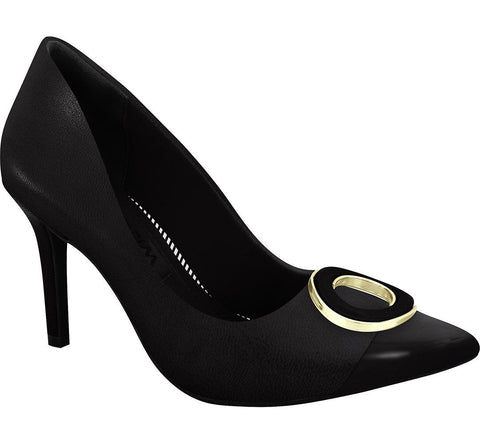 Ramarim 16-23252 Pointy Toe Pump in Black Napa