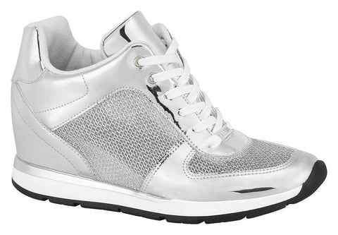 Vizzano 1226-104 Wedge Sneaker in Silver
