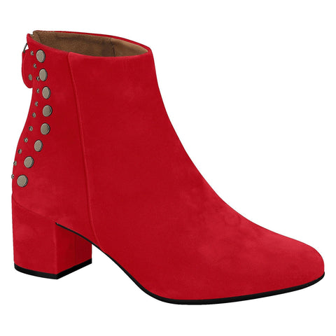 Vizzano 3067-101 Ankle Boot in Red Nubuck