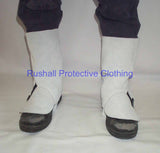 Chrome Leather Gaiters 12 Inch